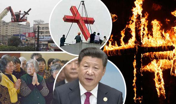 Trung cộng đàn áp mạnh Kitô giáo
