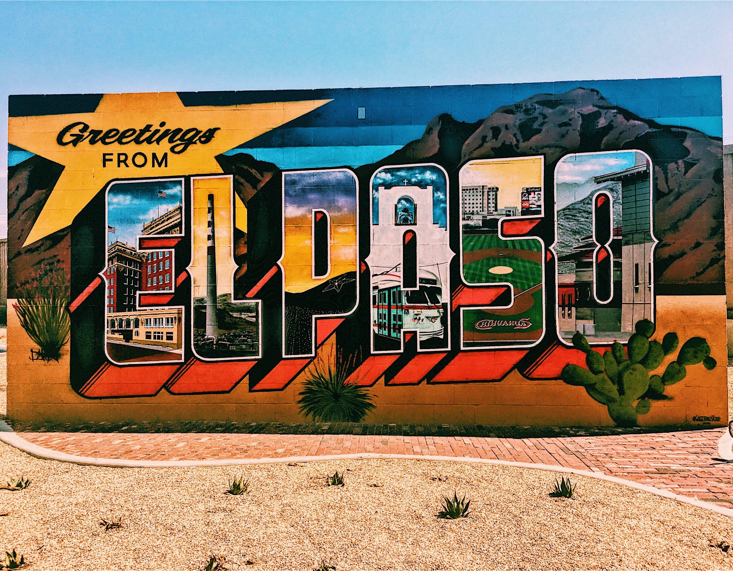 Về vùng sa mạc El Paso
