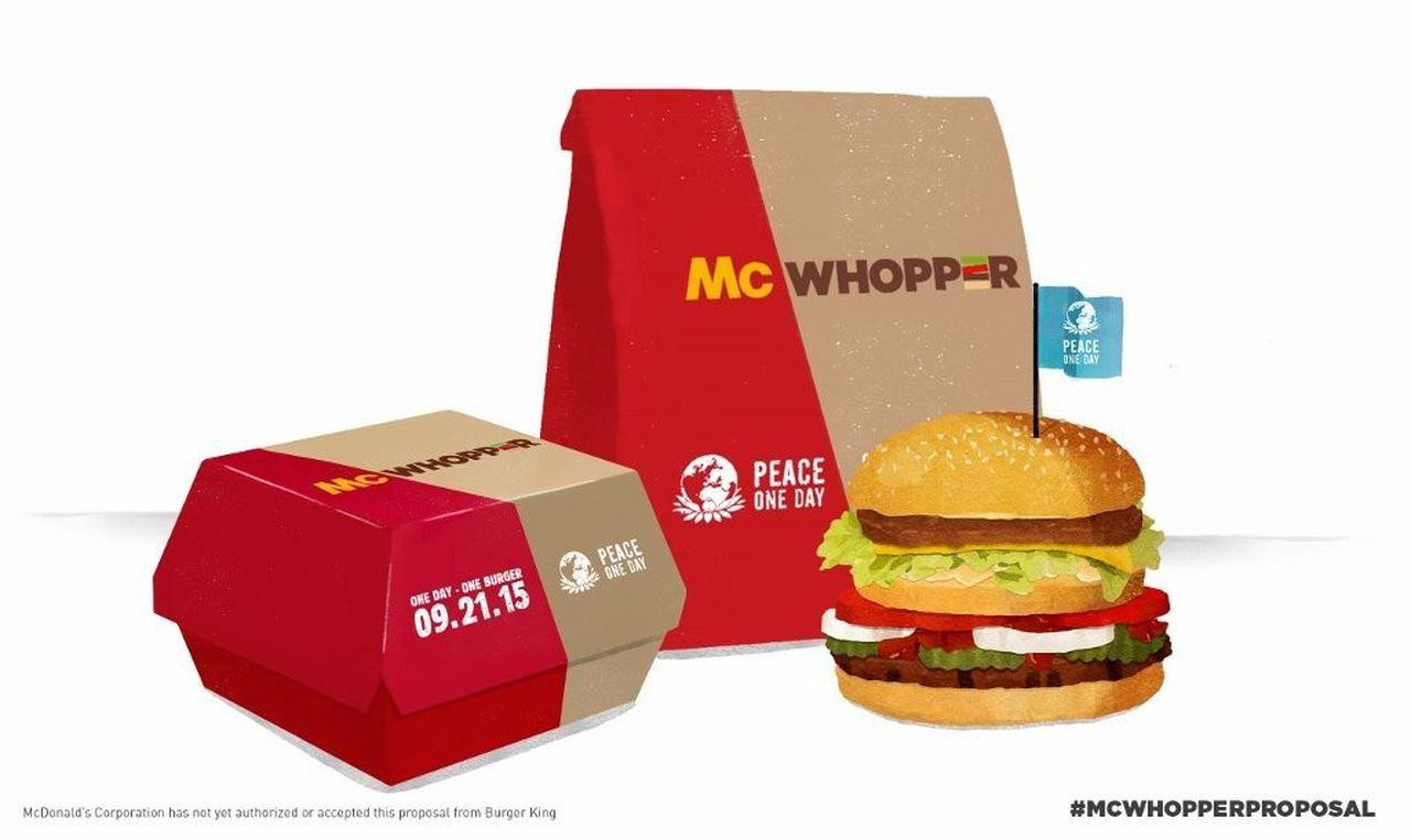 Đòn cao tay ấn của Burger King