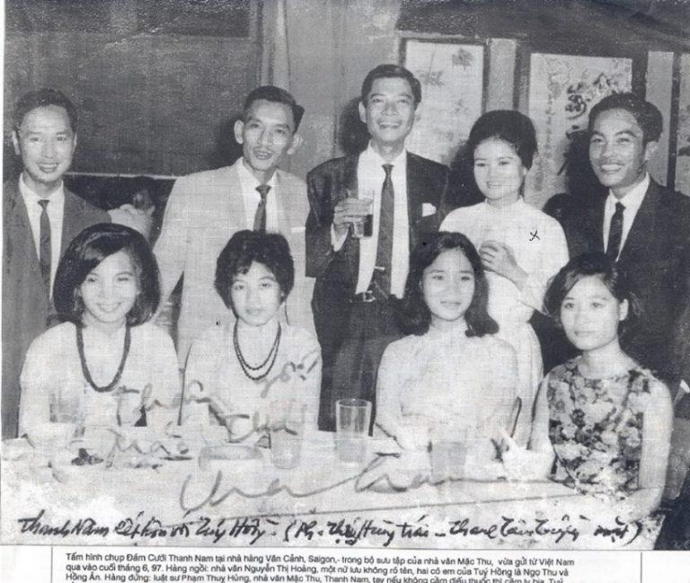 Nhà văn Túy Hồng, chứng nhân tình yêu và cuộc đời
