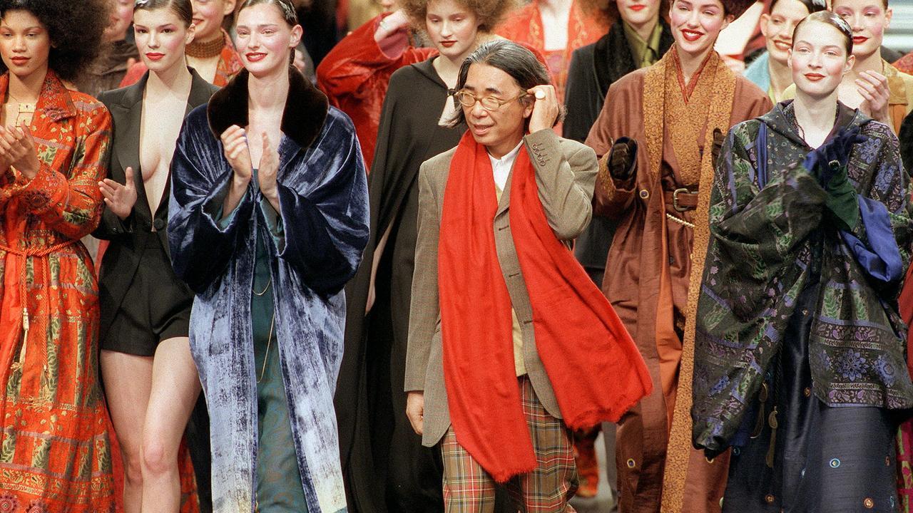 Huyền thoại thời trang Kenzo