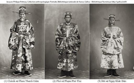 Những người Việt Nam đầu tiên được chụp ảnh là ai?