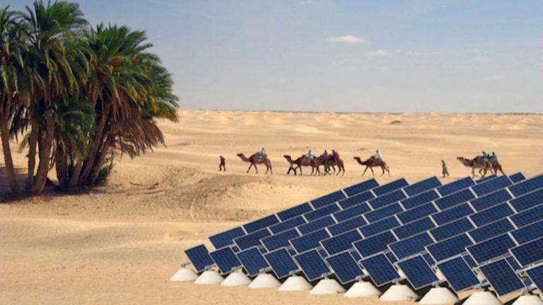Nguồn năng lượng khổng lồ từ nắng sa mạc Sahara