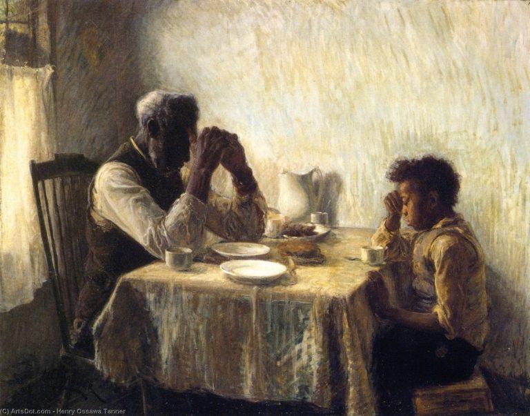 Bài học về tình yêu gia đình qua bức họa 'The Banjo Lesson'