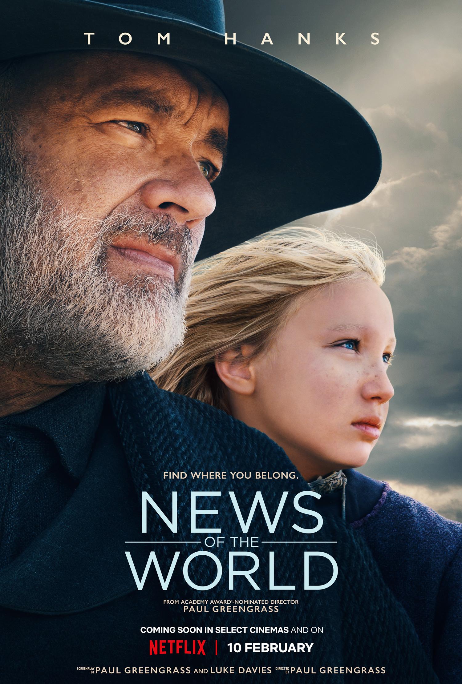 Tom Hanks tái xuất giang hồ trong News of the World