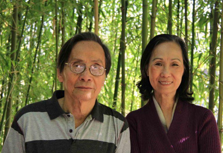 Bà Tú Xương Nguyễn Thị Thu Hồng và nhà văn Nguyễn Đình Toàn