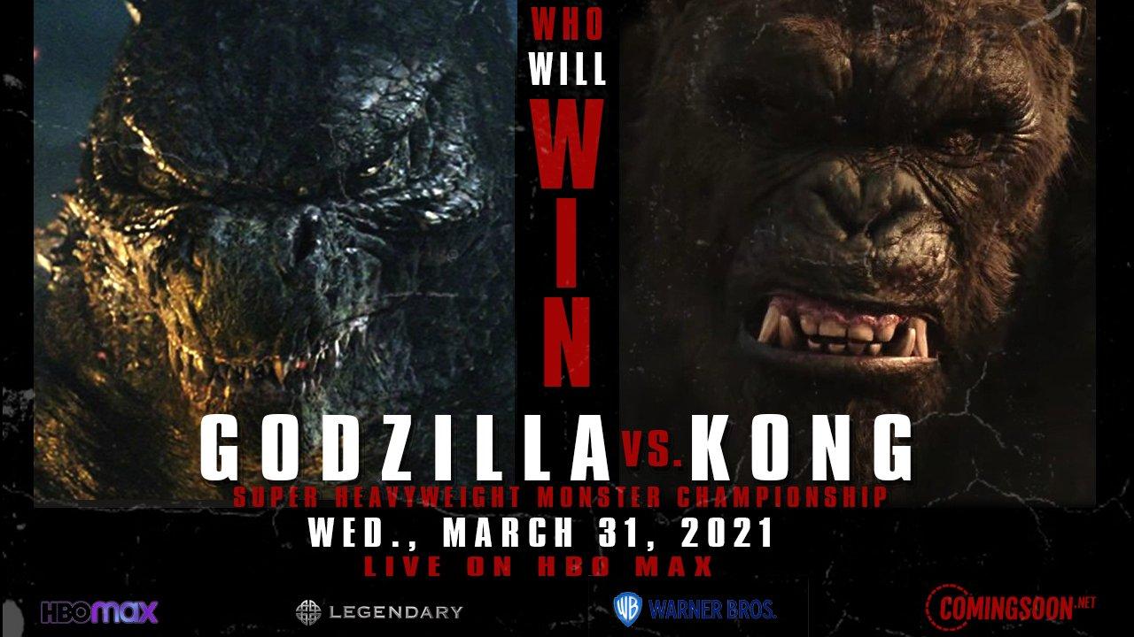 'Godzilla vs. Kong' giành vị trí số 1 ở Mỹ