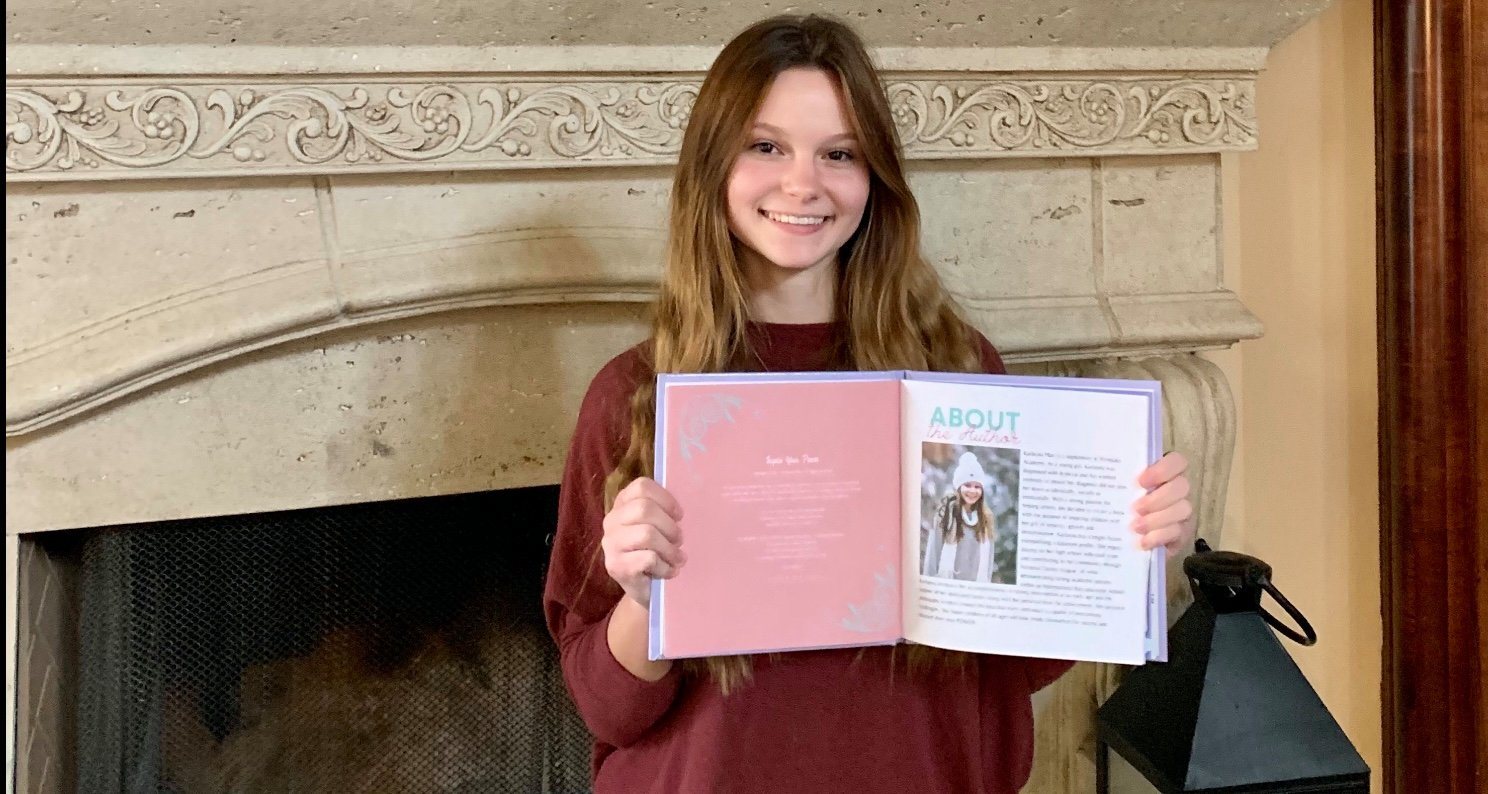 Tác giả Karlayna Platt: nữ sinh 15 tuổi