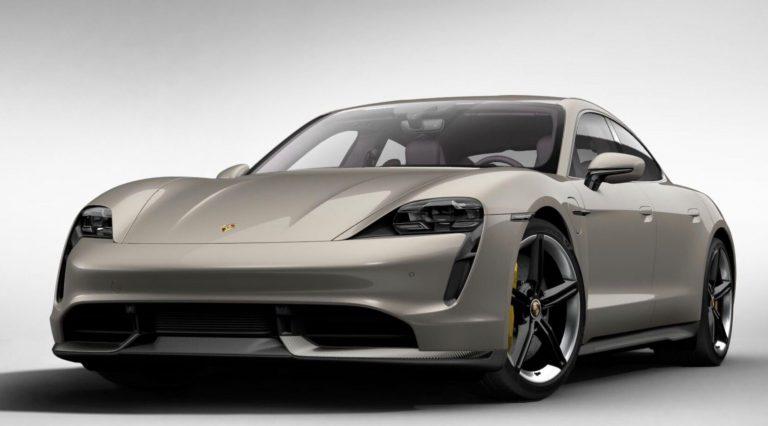 Porsche Taycan, 5 phút charge chạy 100km