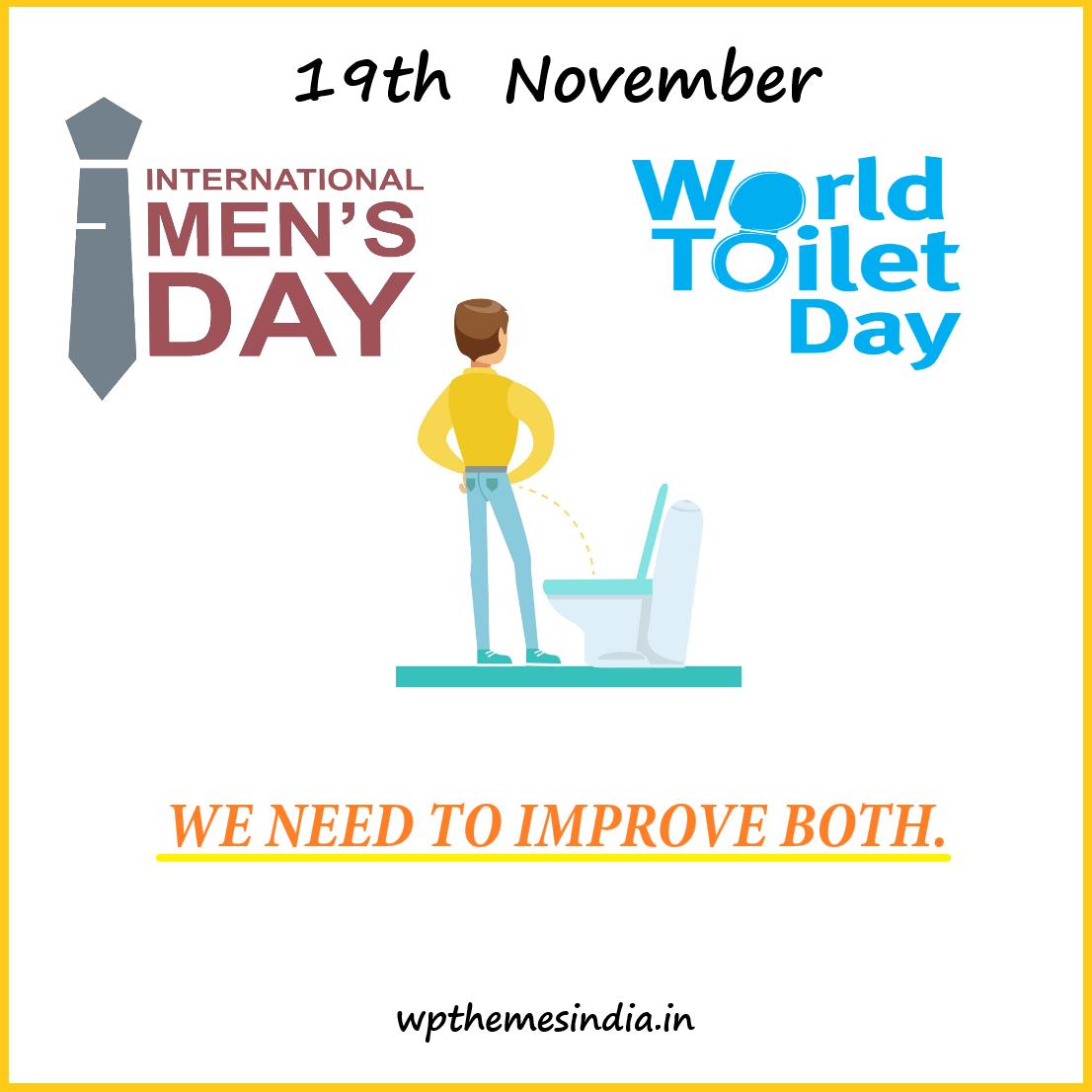 Toilet và đàn ông