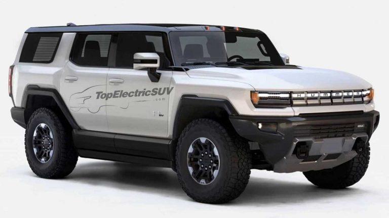 Năm 2023 sẽ bán ra Hummer điện