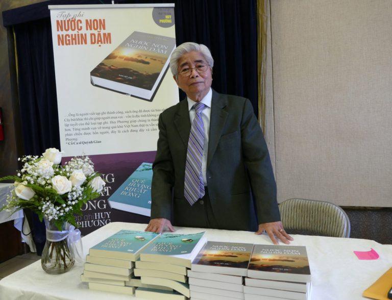 Nhà văn Huy Phương, một khuôn mặt đáng trân quý