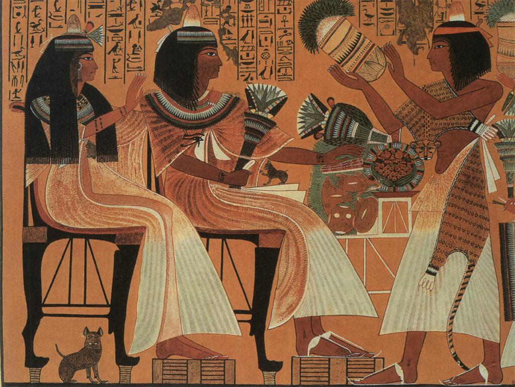 Địa vị tôn quý của mèo thời Ai Cập cổ đại