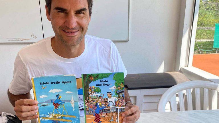 Roger Federer hóa thân thành nhân vật truyện tranh